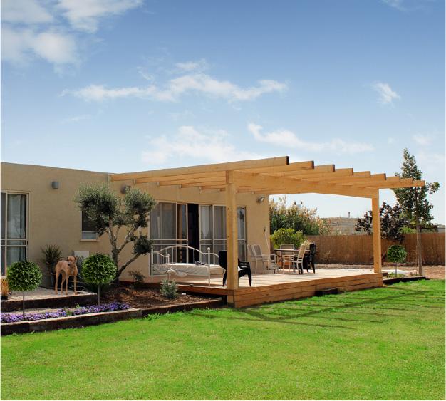 מסודר בתים מוכנים למגורים - מבנים ניידים למכירה   א.ב.ד בניה קלה BB-01