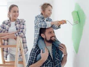 צביעת בית