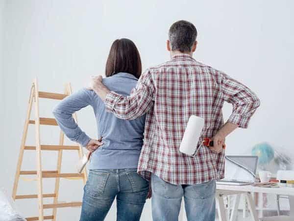 שיפוץ בית שנבנה בשיטת בנייה קלה