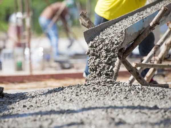 שימוש בבטון בשיטת הבנייה הקלה
