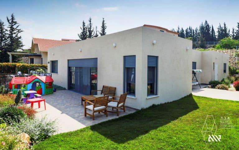 איך לבנות בית פרטי בשרון ב-⅔ ממחיר השוק?