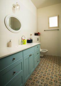 מקלחת ושירותים בניה ירוקה